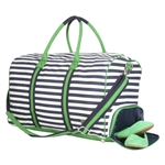 Ame & Lulu Large Signature Duffel - Piper