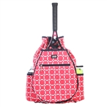 Ame & Lulu Tennis Backpack Cabana
