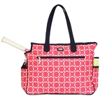Ame & Lulu Tennis Court Bag - Cabana