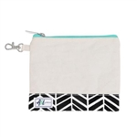 A&L Golf Tee Pouch - Black Shutters