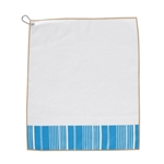 A&L Golf Towel - Ticking Stripe
