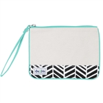 A&L Forget Me Not Wristlet - Black Shutters