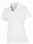 AUR Ladies Short Sleeve Classic Pique Polo - White