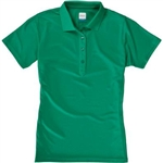 AUR DRI-MAX™ Solid Short Sleeve Pique Polo Emerald