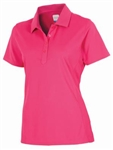 AUR DRI-MAX™ Solid Short Sleeve Pique Polo Kiss