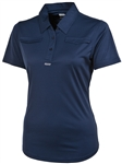AUR Ladies Chest Pocket Polo Twilight