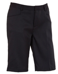 AUR Ladies Solid Stretch Golf Short Black