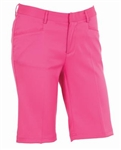 AUR Ladies Solid Stretch Golf Short Kiss