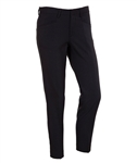 AUR Ladies Solid Stretch Cropped Golf Pant Black