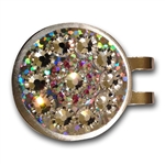 Blingo Ballmark with Hat Clip Crystal Glitter