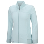 Adidas Advanced Fleece Full Zip- Ice Blue