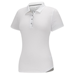 Adidas Essentials 3-Stripes Short Sleeve Polo - White