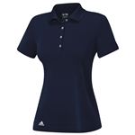 Adidas Essentials 3-Stripes Short Sleeve Polo - Black