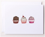 Bloom Design Note Cards - Cupcakes | Golf4Her
