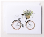 Bloom Design Note Cards - Bike Ride | Golf4Her