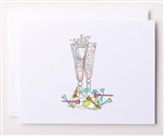 Bloom Designs Ladies Golf Note Cards - Golf Celebration | Golf4Her