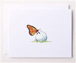 Bloom Designs Ladies Golf Note Cards - Lucky Shot | Golf4Her