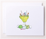 Bloom Design Note Cards - Margaritees | Golf4Her