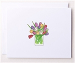 Bloom Design Note Cards - Tulips | Golf4Her