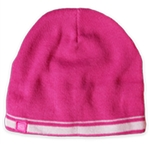 Garb Benny Youth Knit Beanie - Bright Pink