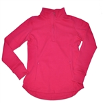 Baker Golf 3/4 Zip Pullover - Bright Pink | Golf4Her