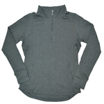Baker Golf Ladies 3/4 Zip Pullover (Charcoal Grey) | Golf4Her