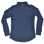 Baker Golf Ladies 3/4 Zip Pullover (Navy) | Golf4Her