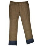 Baker Golf Dew Sweeper Corduroy Golf Pant (Chocolate/Navy)