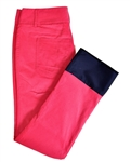Baker Golf Dew Sweeper Corduroy Golf Pant (Pink/Navy)