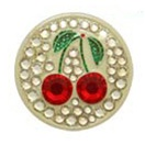 Bonjoc Ball Marker and Hat Clip Cherries