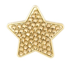 Bonjoc Star Ball Marker and Hat Clip Goldie