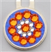 Blingo Ballmarker Orange & Blue