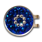 Blingo Ballmark with Hat Clip (Royal Blue)