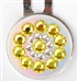 Blingo Yellow Shine Ballmark with Hat Clip
