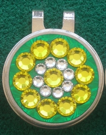 Masters Green Jacket Blingo Ballmarker
