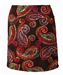 B-Skinz Pull-On Skort Tabasco Paisley