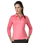 Chase54 Ladies Jade 3/4 Sleeve Polo