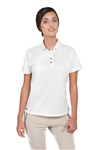 Chase54 Ladies Amie Short Sleeve Polo Pearl