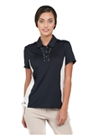 Chase54 Ladies Neiva Solid Mesh Polo