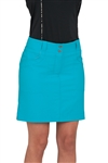 Chase54 Ladies Karly Tour Skort- Peacock