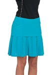 Chase54 Ladies Bayan Perforated Circle Skort