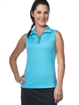 Chase54 Ladies Conde Sleeveless Polo