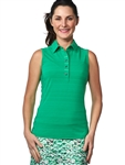 Chase54 Ladies Heritage Sleeveless Polo
