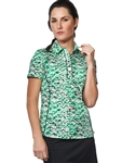 Chase54 Ladies Vista Short SleeveGolf Polo