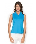 Chase54 Ladies Kendall Sleeveless Polo - French Blue