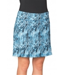 Chase54 Taylor Pull On Golf Skort - French Blue