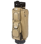 Cutler Sports Grace Beige Quilt Cart Golf Bag