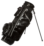 Cutler Sports Lizz Black Lizard Stand Golf Bag