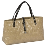 Cutler Sports Grace Beige Quilt City Tote Bag