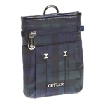 Cutler Sports Kate Blackwatch Blue Messenger Pouch